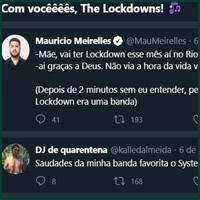 Seria lockdown um nome de banda? Qual é o melhor termo em português?