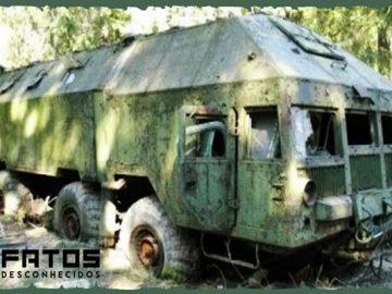 Os veículos abandonados mais incríveis já encontrados 7