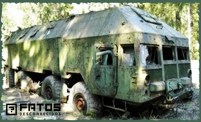 Os veículos abandonados mais incríveis já encontrados 2