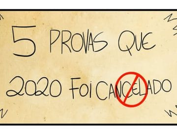 5 provas que 2020 foi cancelado 5