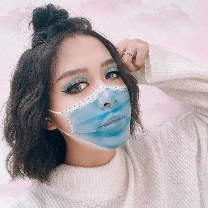 A maquiadora usa seu rosto e corpo como tela para criar ilusões de ótica alucinantes (25 fotos) 17