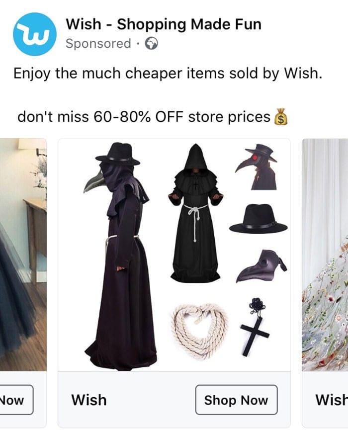 40 anúncios estranhos que não têm explicações do Wish 6