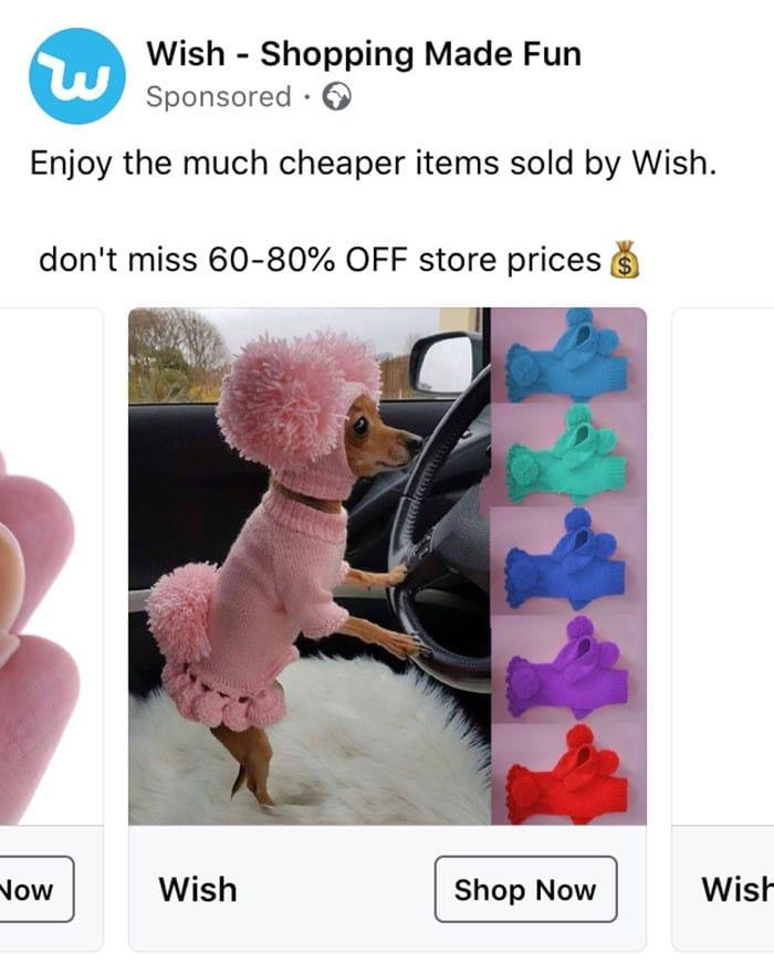 40 anúncios estranhos que não têm explicações do Wish 12