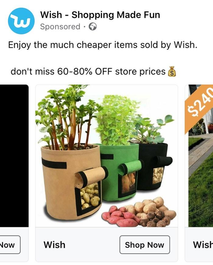 40 anúncios estranhos que não têm explicações do Wish 13