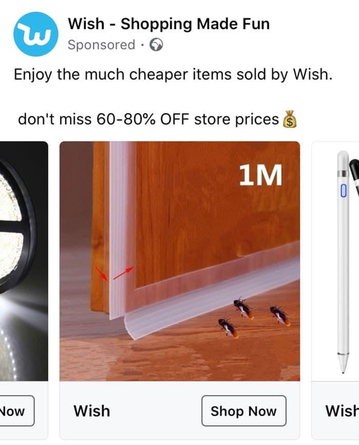 40 anúncios estranhos que não têm explicações do Wish 18