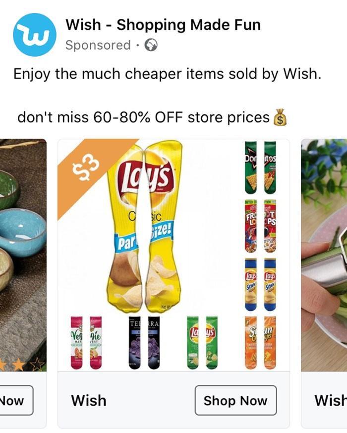 40 anúncios estranhos que não têm explicações do Wish 19
