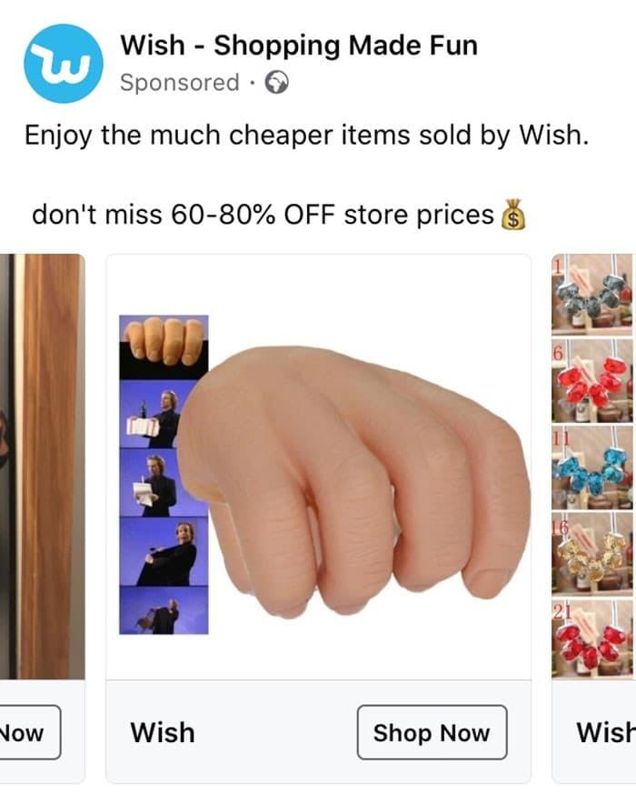40 anúncios estranhos que não têm explicações do Wish 23