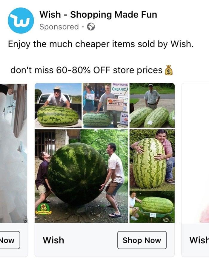 40 anúncios estranhos que não têm explicações do Wish 25