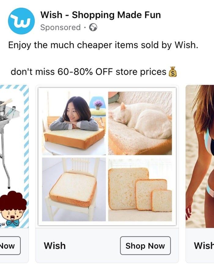 40 anúncios estranhos que não têm explicações do Wish 30