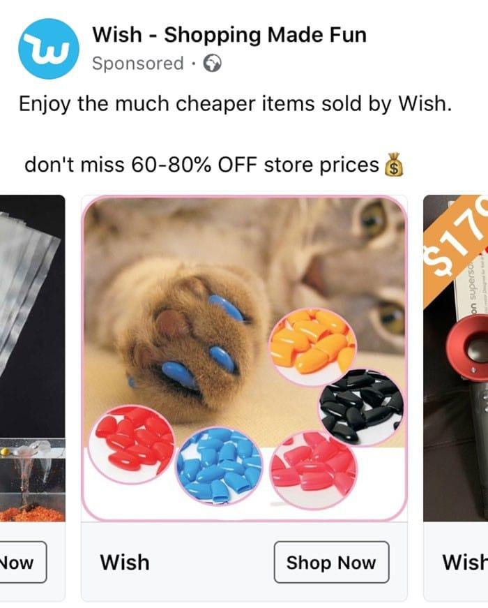 40 anúncios estranhos que não têm explicações do Wish 32
