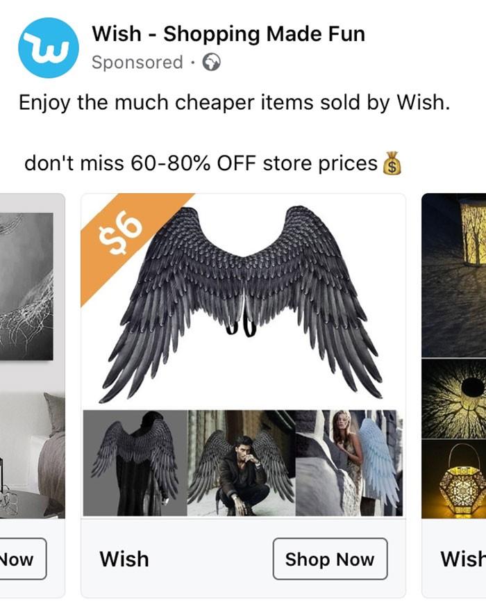 40 anúncios estranhos que não têm explicações do Wish 33