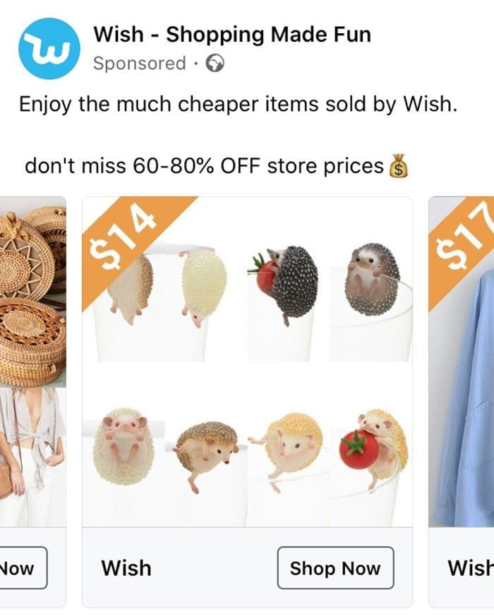 40 anúncios estranhos que não têm explicações do Wish 36