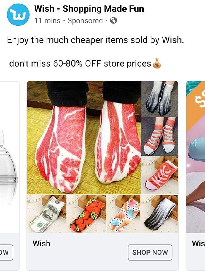 40 anúncios estranhos que não têm explicações do Wish 38