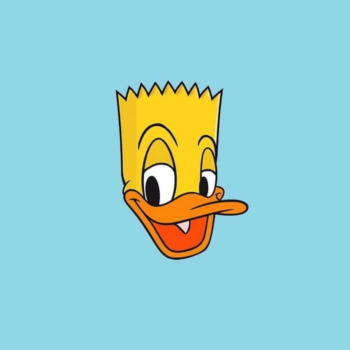 Artista cria estranhos mas bonitos personagens de desenhos animados no estilo Mash-Ups (30 fotos) 3
