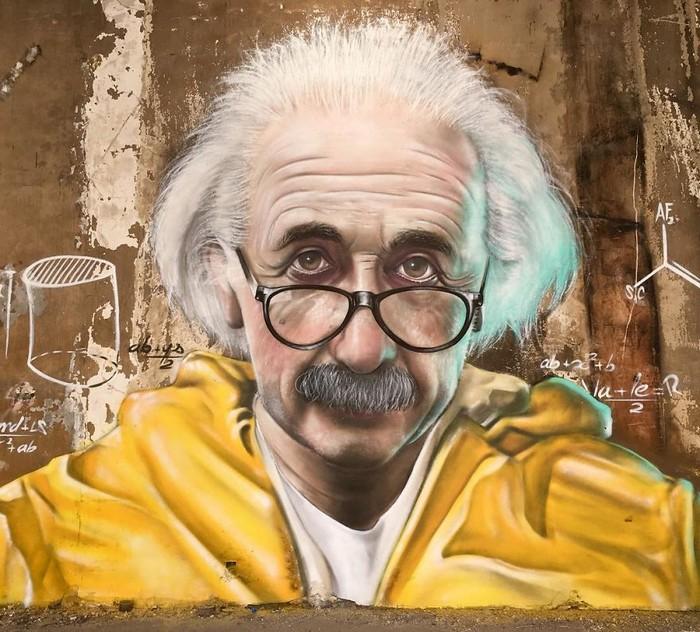 Artista de rua francês pinta grafite de criatura 3D (43 fotos) 14