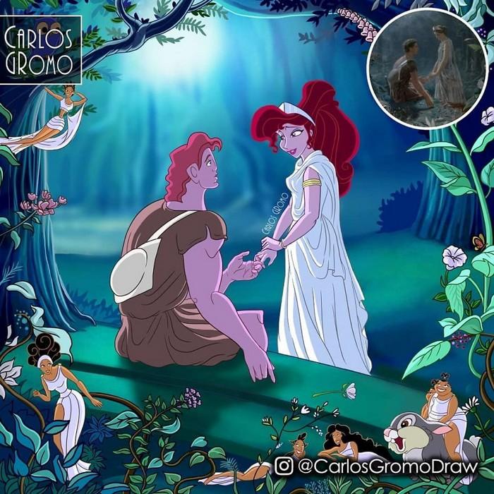 Artista reimagina 22 pinturas famosas com personagens da Disney 4