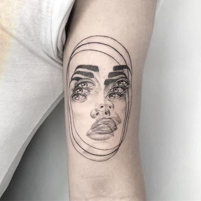 As tatuagens de ilusão de ótica da mexicana Yatzil Elizalde (23 fotos) 5