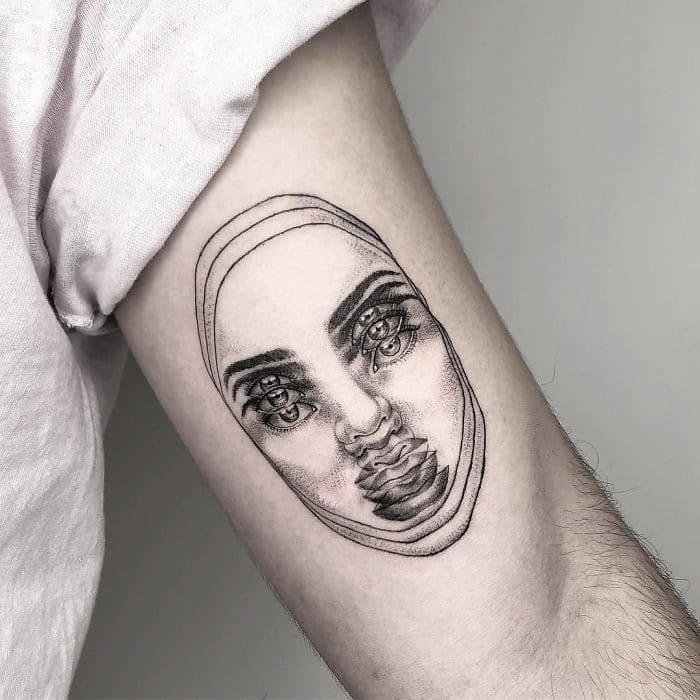 As tatuagens de ilusão de ótica da mexicana Yatzil Elizalde (23 fotos) 16