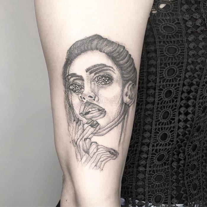 As tatuagens de ilusão de ótica da mexicana Yatzil Elizalde (23 fotos) 19