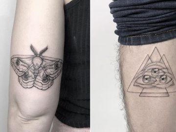 As tatuagens de ilusão de ótica da mexicana Yatzil Elizalde (23 fotos) 31