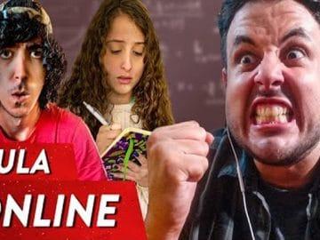 Coisas que acontecem na aula online 3