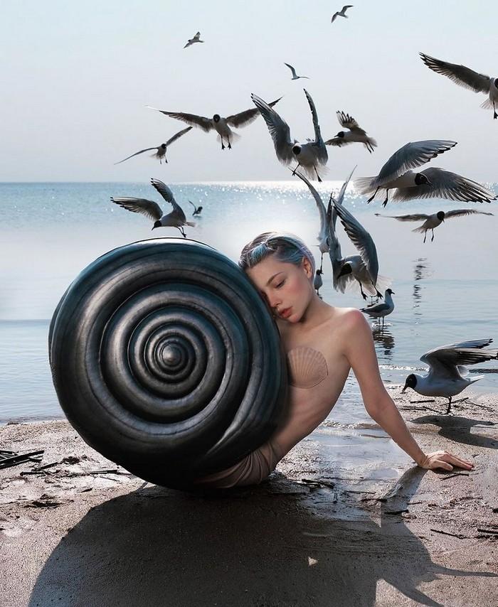 Esta artista russa compartilha suas fotos bizarras e se tornou uma sensação no Instagram (40 fotos) 3