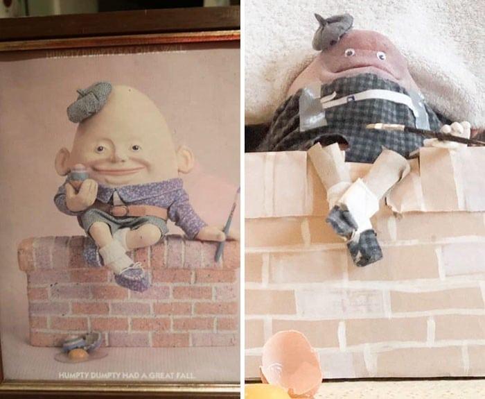 Grupo do Facebook recria obras de arte durante isolamento social (34 fotos) 4