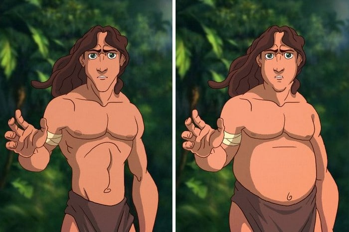 31 personagens do filmes da Disney se fossem gordo 17
