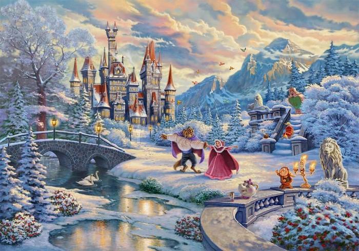 As pinturas deste artista sobre Disney parecem melhores do que os filmes (37 fotos) 2