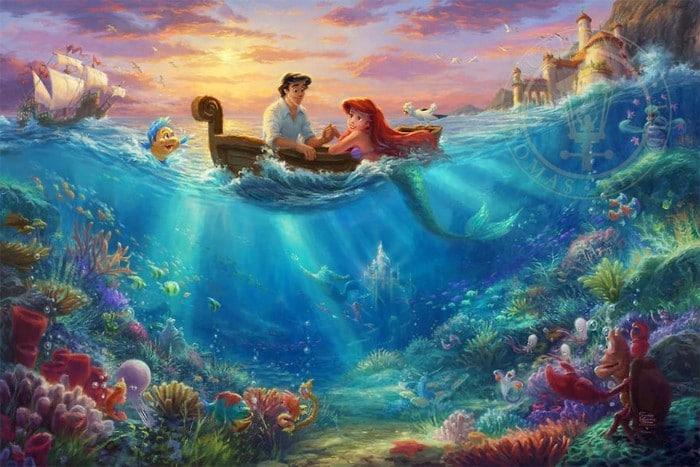 As pinturas deste artista sobre Disney parecem melhores do que os filmes (37 fotos) 3