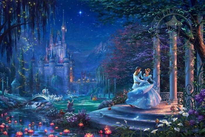 As pinturas deste artista sobre Disney parecem melhores do que os filmes (37 fotos) 4