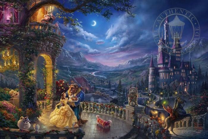 As pinturas deste artista sobre Disney parecem melhores do que os filmes (37 fotos) 5