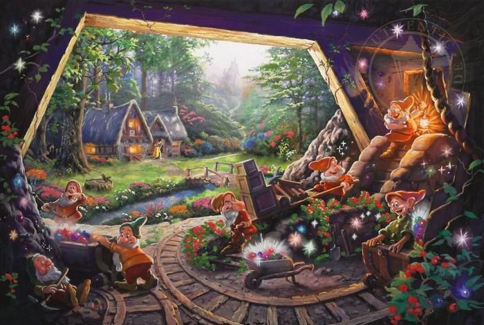 As pinturas deste artista sobre Disney parecem melhores do que os filmes (37 fotos) 6