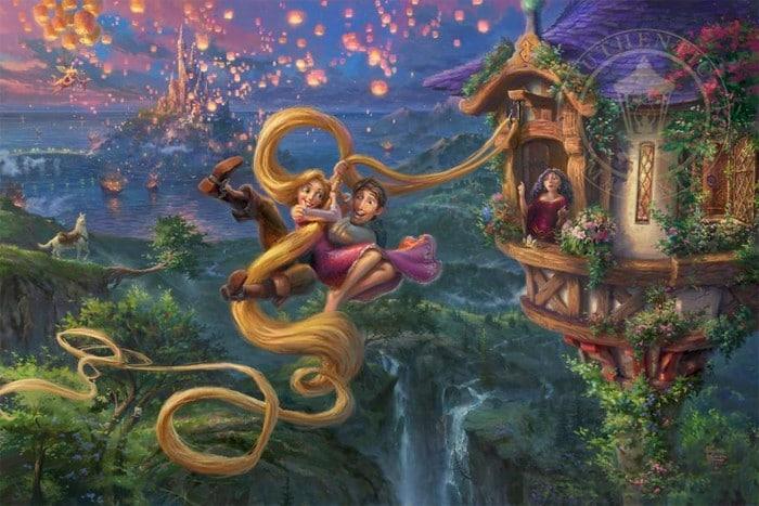 As pinturas deste artista sobre Disney parecem melhores do que os filmes (37 fotos) 8