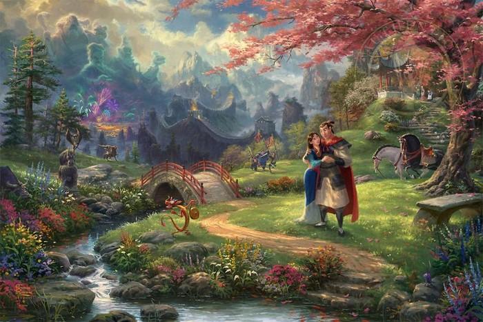 As pinturas deste artista sobre Disney parecem melhores do que os filmes (37 fotos) 9