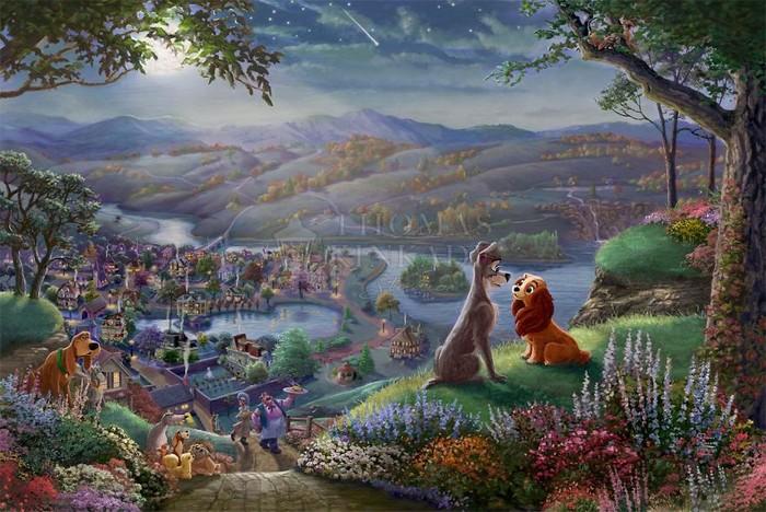 As pinturas deste artista sobre Disney parecem melhores do que os filmes (37 fotos) 10