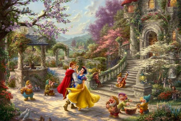 As pinturas deste artista sobre Disney parecem melhores do que os filmes (37 fotos) 11