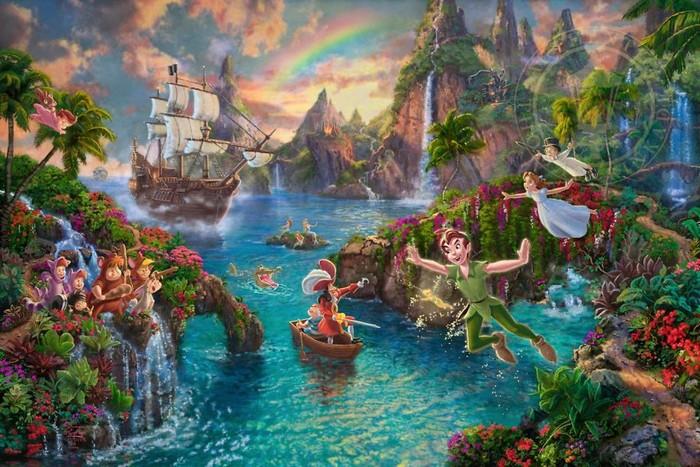 As pinturas deste artista sobre Disney parecem melhores do que os filmes (37 fotos) 12
