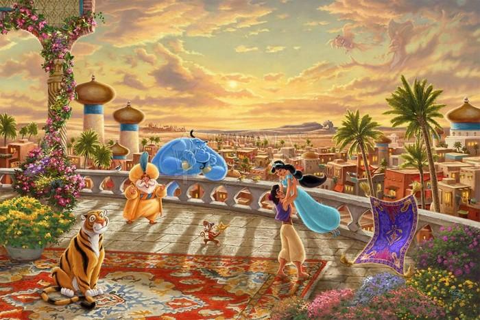 As pinturas deste artista sobre Disney parecem melhores do que os filmes (37 fotos) 13