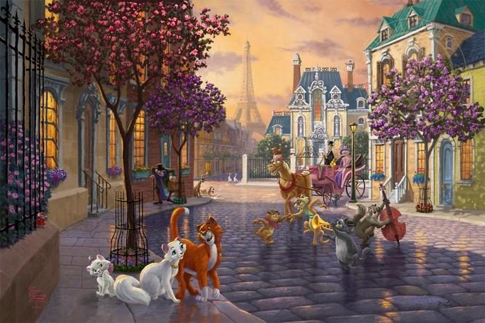 As pinturas deste artista sobre Disney parecem melhores do que os filmes (37 fotos) 14