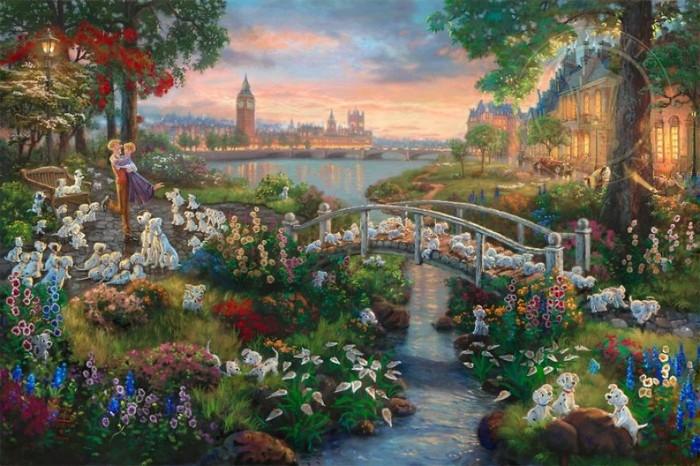 As pinturas deste artista sobre Disney parecem melhores do que os filmes (37 fotos) 15
