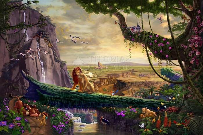 As pinturas deste artista sobre Disney parecem melhores do que os filmes (37 fotos) 17