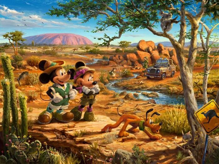 As pinturas deste artista sobre Disney parecem melhores do que os filmes (37 fotos) 18