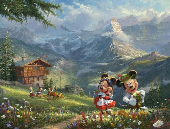 As pinturas deste artista sobre Disney parecem melhores do que os filmes (37 fotos) 19