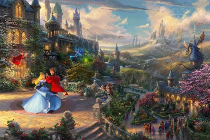 As pinturas deste artista sobre Disney parecem melhores do que os filmes (37 fotos) 21
