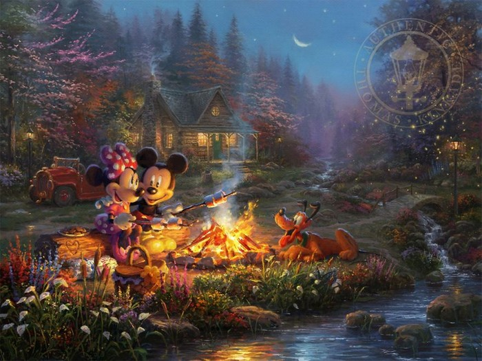 As pinturas deste artista sobre Disney parecem melhores do que os filmes (37 fotos) 22