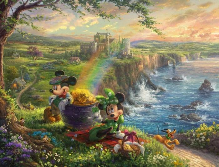 As pinturas deste artista sobre Disney parecem melhores do que os filmes (37 fotos) 23