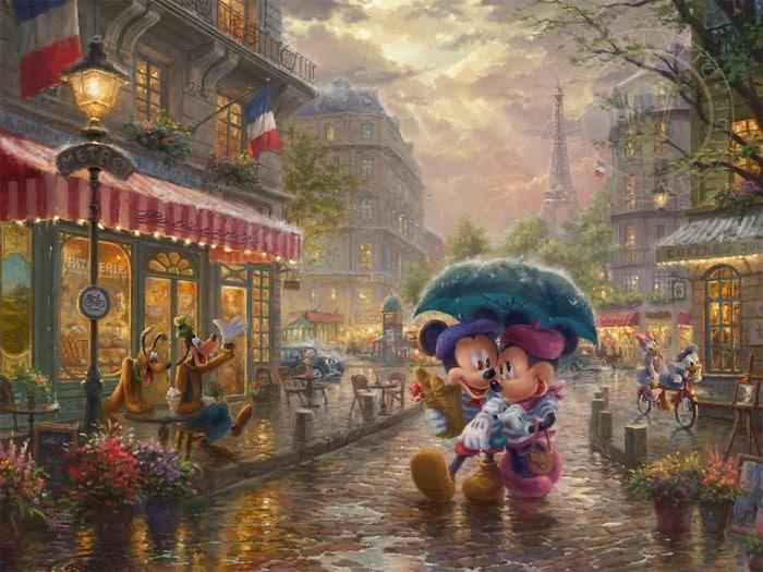 As pinturas deste artista sobre Disney parecem melhores do que os filmes (37 fotos) 24
