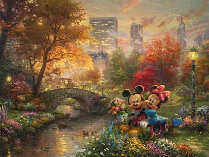 As pinturas deste artista sobre Disney parecem melhores do que os filmes (37 fotos) 25