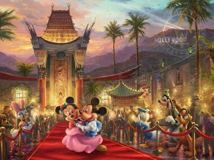As pinturas deste artista sobre Disney parecem melhores do que os filmes (37 fotos) 26